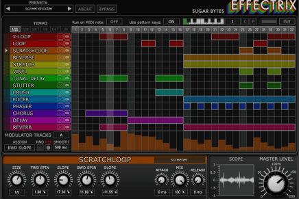Effectrix, the Effect Sequencer from SugarBytes