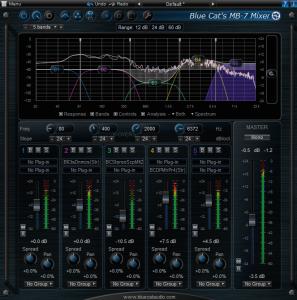 Blue Cat's MB-7 Mixer