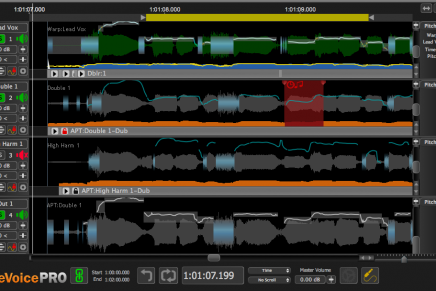 Synchro Arts releases Revoice Pro 3 timing and pitch alignment software