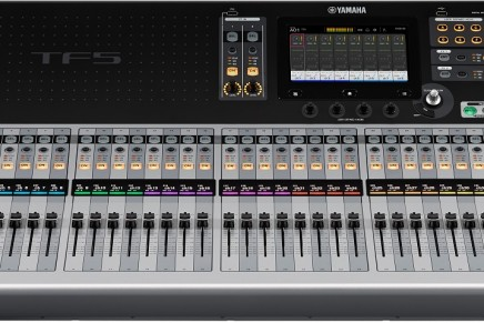 Yamaha announces TF series digital mixers
