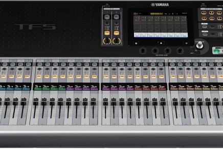 Yamaha announces TF series digital mixers