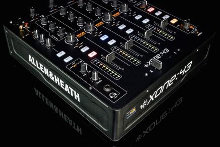 Allen & Heath introduces Xone:43 DJ mixer