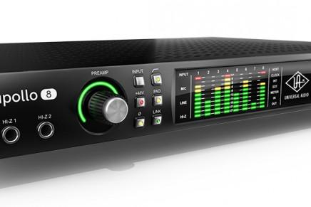 Universal Audio announces Next-Generation Apollo Thunderbolt 2 Audio Interfaces For 2015