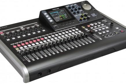 Tascam introduces the DP-24SD Portastudio