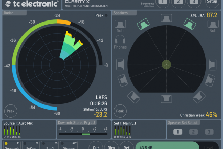TC Electronic Adds Calibration Wizard to Clarity X