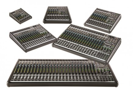 Mackie announces new lineup of live ProFXv2 mixers