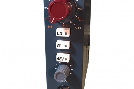 BAE Audio Announces 1073MPL for500 Series