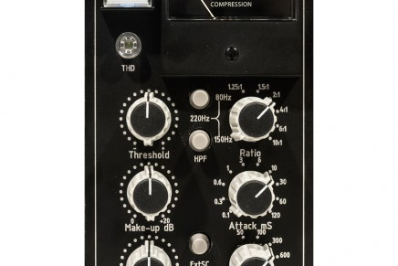 newTK Audio BC501 Stereo Bus Compressor for 500 series