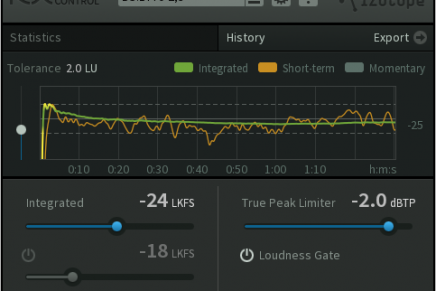 iZotope Releases RX Loudness Control Correction Plug-in