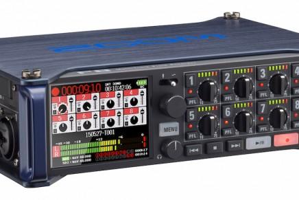 Zoom announces F8 MultiTrack Field Recorder
