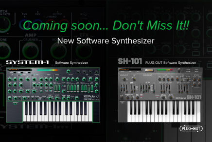 New Roland PLUG-OUT AIRA Synths Coming Soon