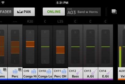 Yamaha announces the new TF MonitorMix app