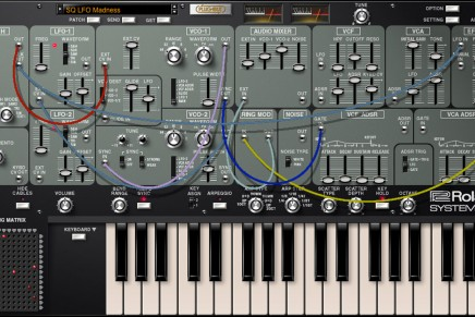 New Roland System-100 PLUG-OUT Synth Released