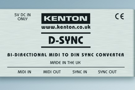 Kenton cultivates connections with bi-directional MIDI to DIN Sync convertor