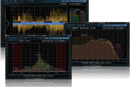 Blue Cat Audio Updates Multiple Tracks Analysis Tools