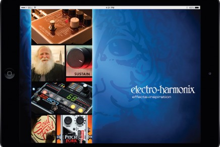 Electro Harmonix launched a new mobile app for OSX and Android