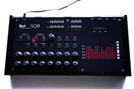 Fyrd Instruments shared a preview of their SQR sequencer