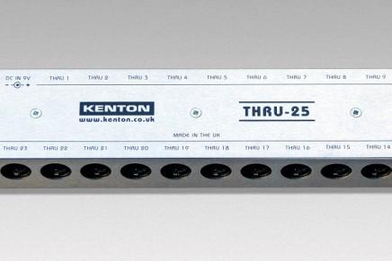Kenton announces the THRU-25 box