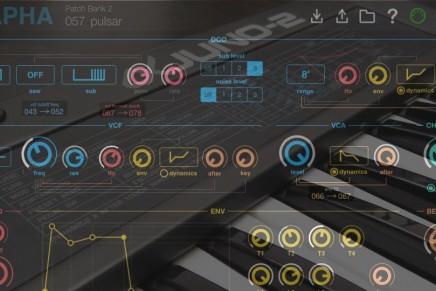 Lachlan Mooney announces Roland Alpha Juno Editor for iPad
