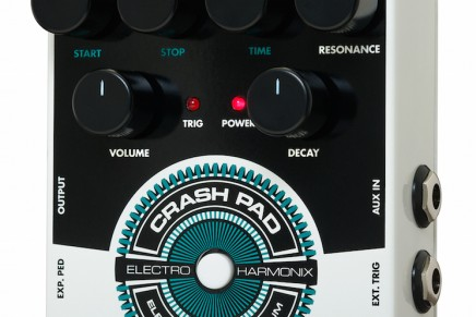 Electro Harmonix Announces Crash Pad Analog Drum Synth.
