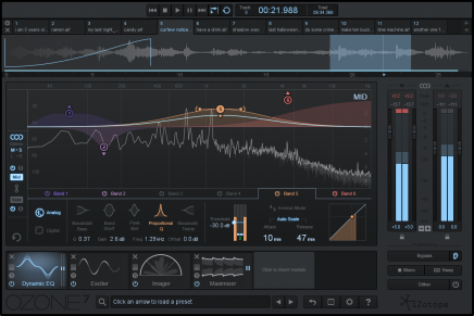 iZotope Ozone 7 is here
