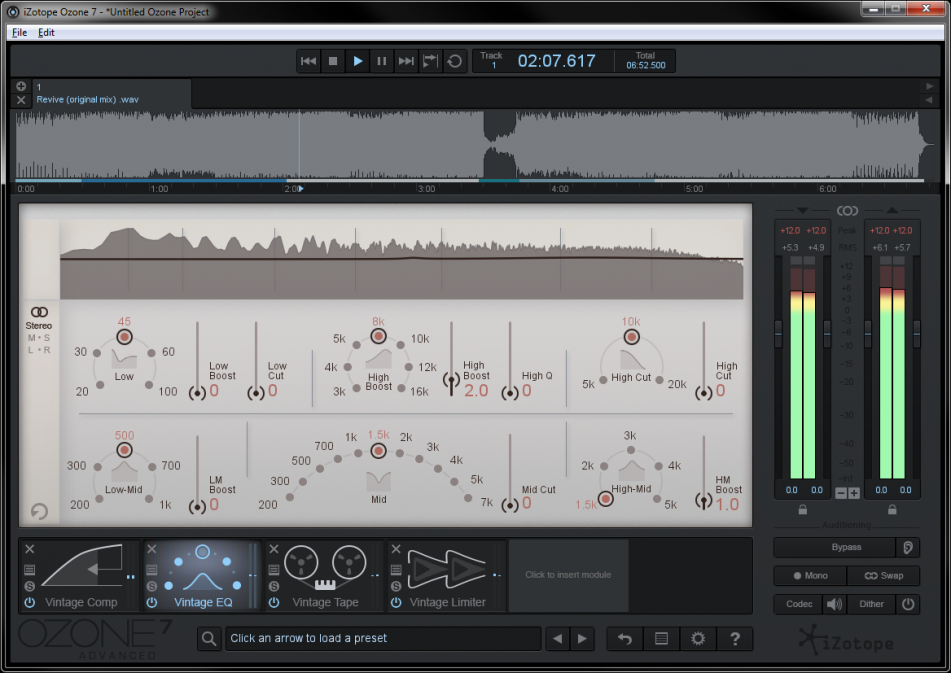 Izotope Ozone 7 Advanced - Gearjunkies review - Gearjunkies com