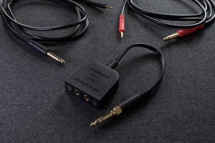 Elektron introducing the Audio/CV Split Cable Kit