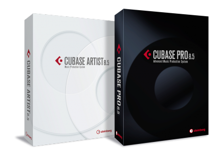 Now Available Steinberg Cubase Pro 8.5 and Cubase Artist 8.5
