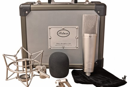 Peluso Microphone Lab Announces Debut of P-87 Solid State Multi-Pattern Condenser Microphone