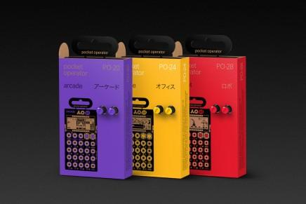 Teenage Engineering pocket operator PO 20-series
