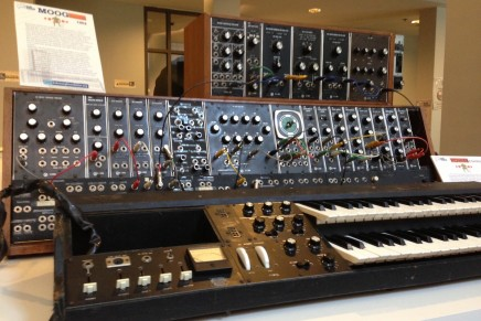 Bob Moog Foundation Features Vintage Modular Synthesizers and Rare Prototypes at NAMM 2016