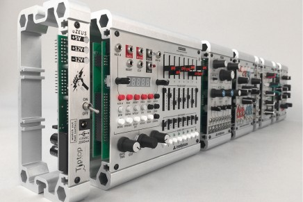 Kahnco Introduces a modular modular eurorack cases
