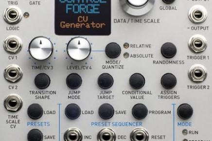 Rossum Electro-Music Announces Control Forge Programmable Universal CV Generator