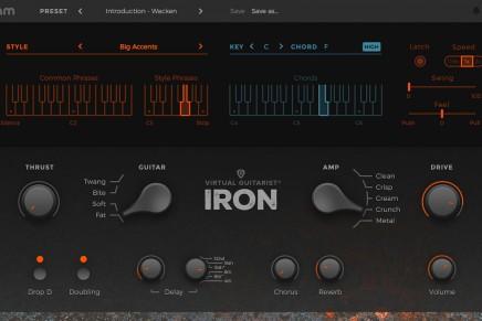 UJAM announces Virtual Guitarist IRON software