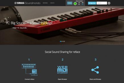 Yamaha launches Soundmondo – Social Sound-Sharing Site