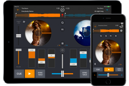 Mixvibes Cross DJ 3.0 for iOS and Android