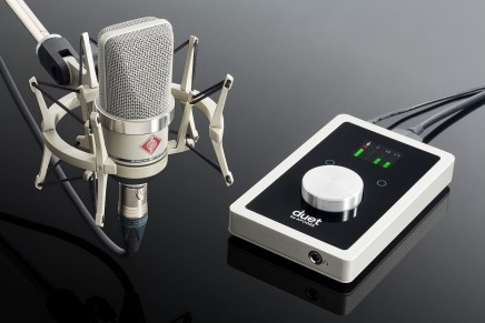 Apogee and Neumann announce attractive home recording bundle