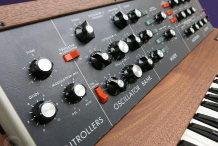 Bob Moog foundation announces 2016 raffle for vintage Minimoog synthesizer