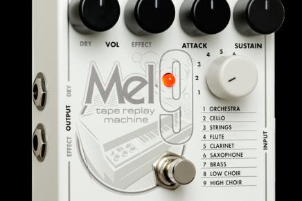 Electro-Harmonix announces MEL9 Tape Replay Machine emulates vintage Mellotron sounds