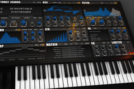 Tone2 Audio announces the forthcoming release of the Icarus synthesizer plug-in