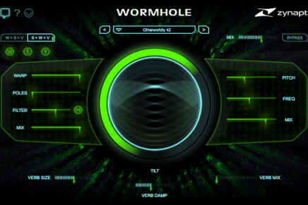 Zynaptiq Announces ADAPTIVERB and WORMHOLE at Musikmesse