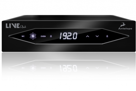 Antelope Audio Introduces LiveClock Portable Master Clock