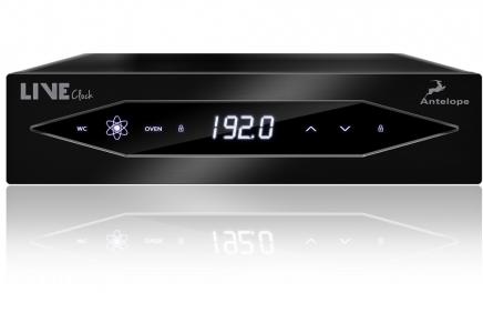 Antelope Audio Introduces LiveClock Portable Master Clock