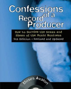 Backbeat Books Publishes Moses Avalon's Confessions of a Record Producer