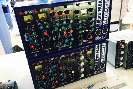 DBX shows new 500 modules at Musikmesse 2016