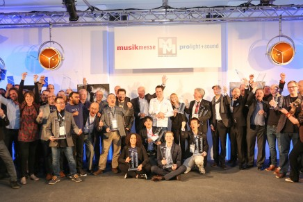 Winners of the 17th mipa Musikmesse international press award 2016