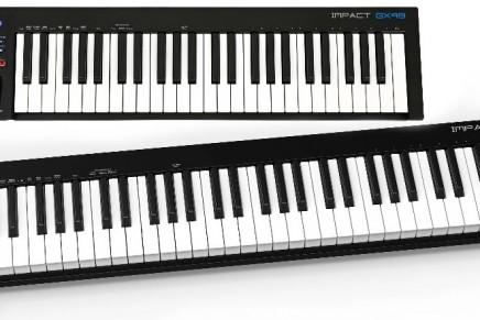 Nektar introduce new Impact GX49 and GX61 USB MIDI Controller Keyboards