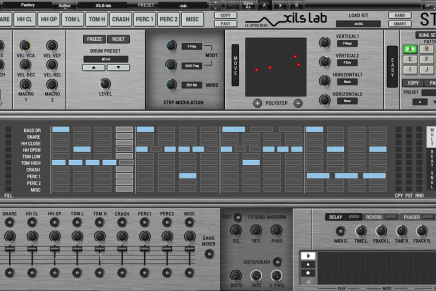 XILS-lab launches StiX by Xils V1.0 virtual analogue drum machine plug-in