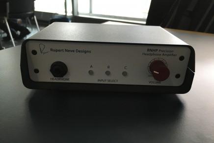 Rupert Neve Designs Announces The RNHP Precision Headphone Amplifier