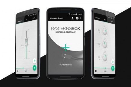 MasteringBOX makes history by releasing first mastering app for Android